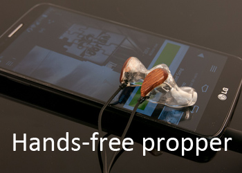 Hands-free propper